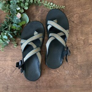 Chaco Zong x EcoTread Backless Toestrap Sandals